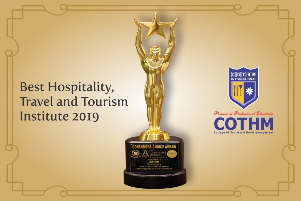 The Best Again!COTHM bags awards in culinary & hotel operations