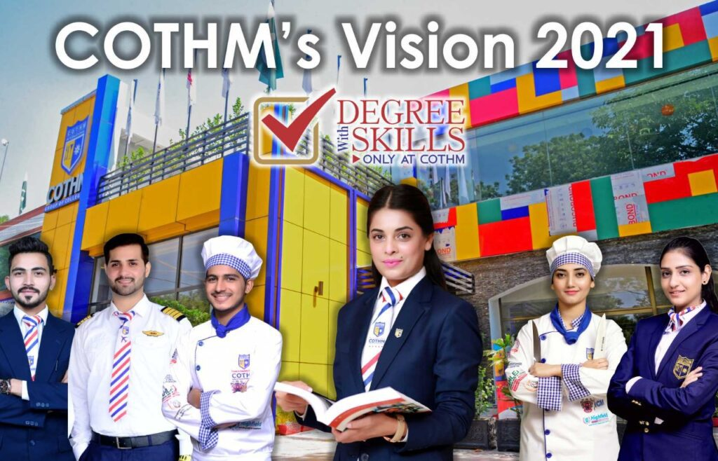 COTHM launches Vision 2021 – Degree with Skills