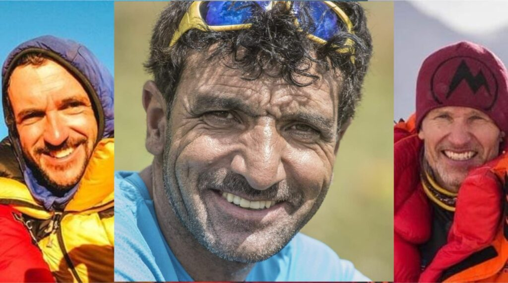 Mountaineers Ali Sadpara, John Snorri, Juan Pablo declared dead