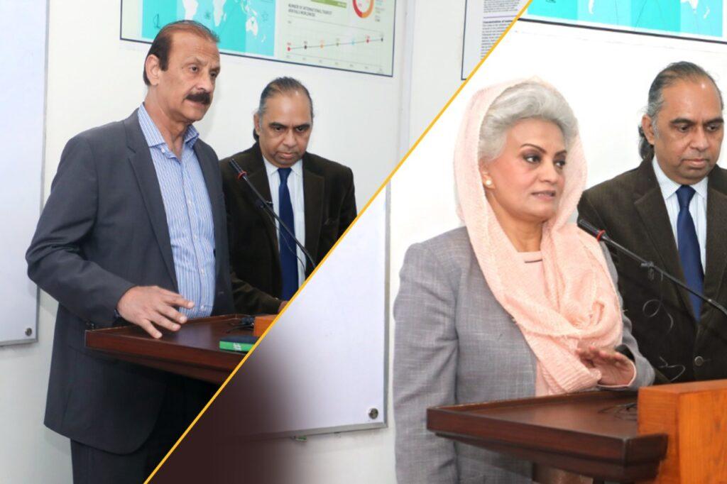 Kamran Lashari, Mussarat Misbah visit COTHM's flagship campus