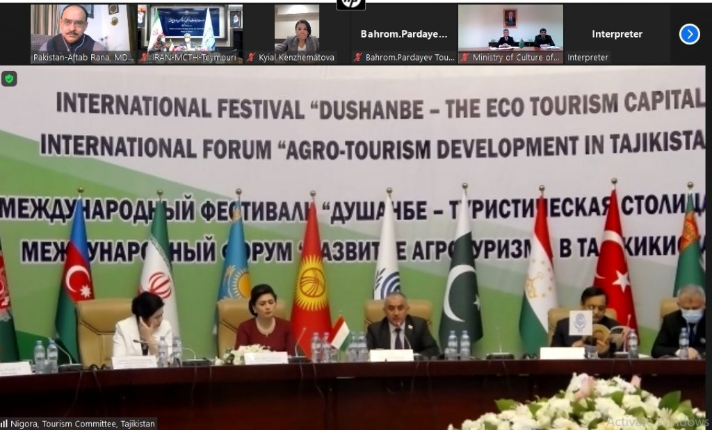 Pakistan has a great potential of agro-tourism: MD, PTDC speaks at Intl Forum on Agro-Tourism Development
