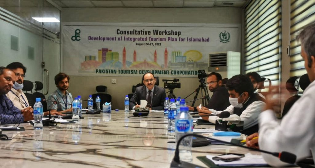 PTDC holds consultation to formulate Integrated Tourism Development Plan for Islamabad Capital Territory