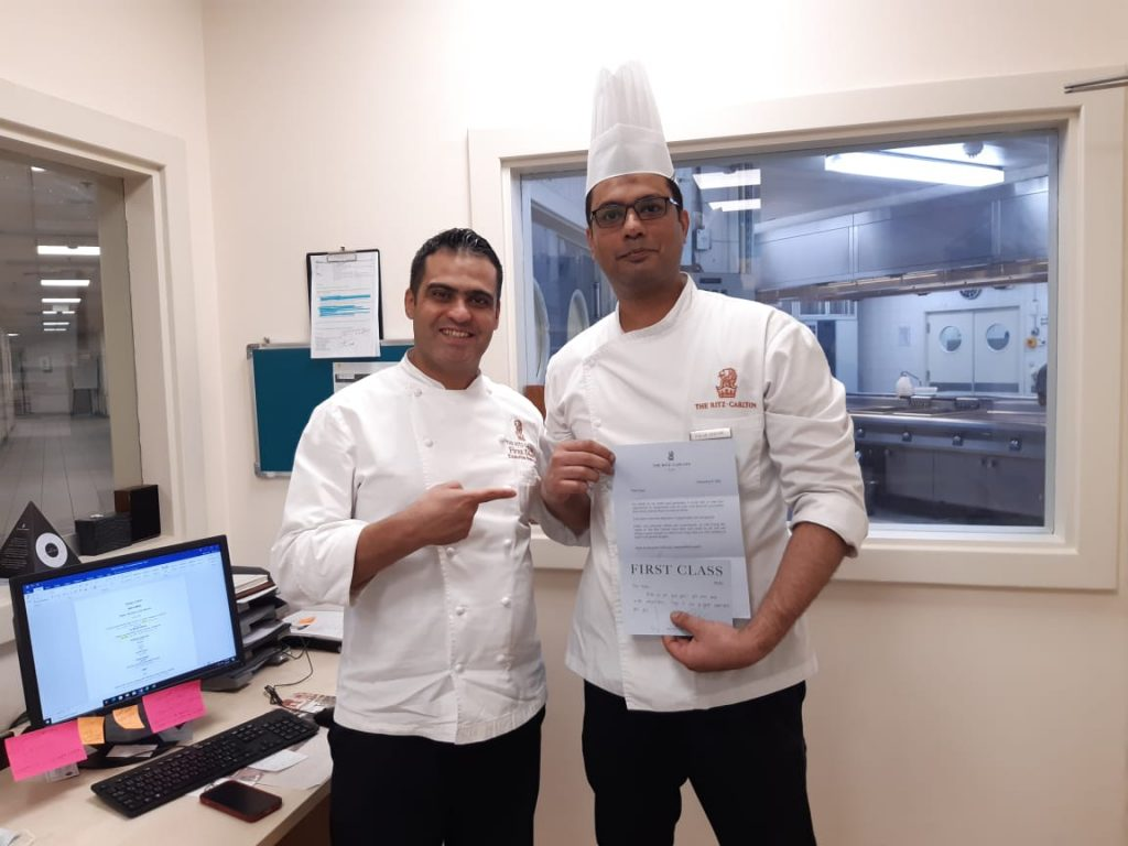 Pakistani Chef Falak becomes 'Chef De Partie' at Ritz Carlton Hotel, Riyadh