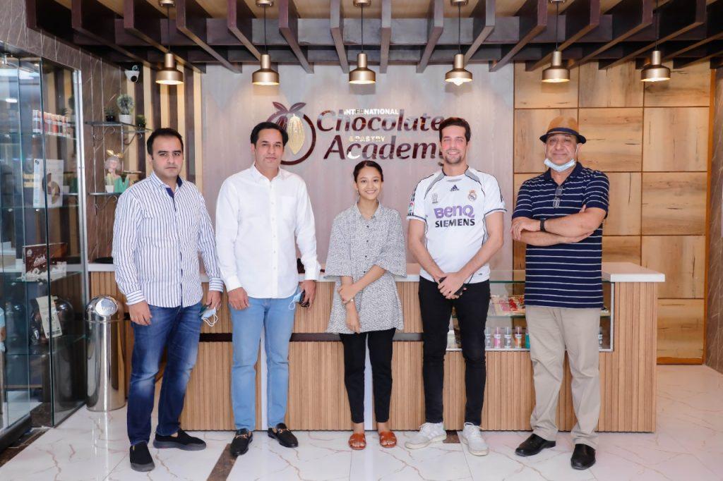 Media Times CEO Shehryar Taseer visits Chocolate Academy