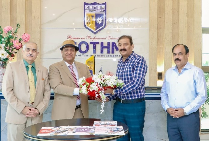 General Naseer Khan of Fauji Foundation terms COTHM's education model the best one